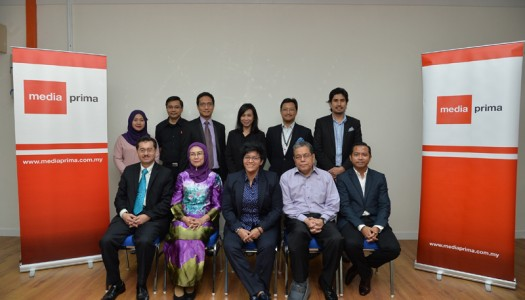 Official Visit of Chairman of FINAS to Media Prima