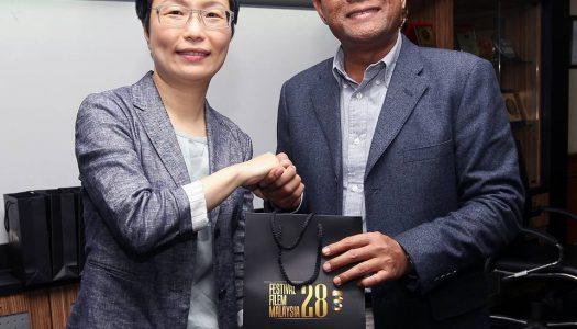 FINAS TERIMA KUNJUNGAN HORMAT TIMBALAN MENTERI KEBUDAYAAN TAIWAN