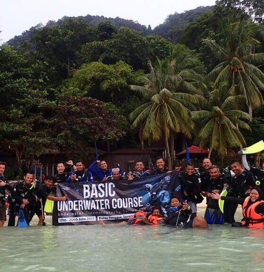 main underwater