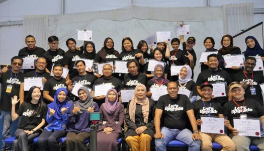 "MAJLIS PENUTUP DAN PENYAMPAIAN SIJIL BENGKEL ""PRODUCTION MANAGEMENT FOR FILM & TV: LET'S UPGRADE"" – INDUSTRI KANDUNGAN KREATIF & MULTIMEDIA MALAYSIA 2017"
