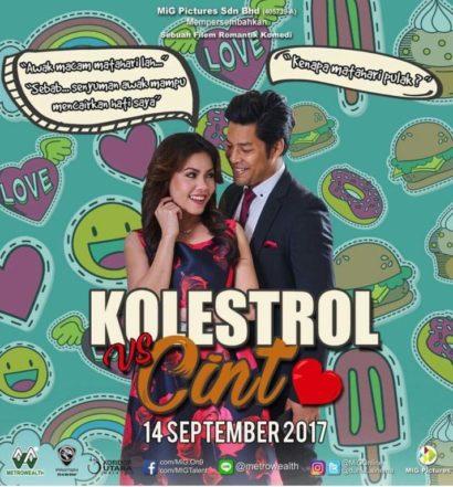 kolestrol vs cinta poster CMP