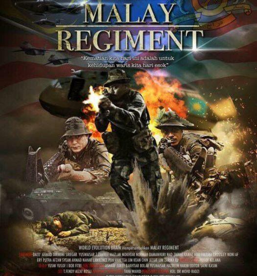 pos ter malay regiment