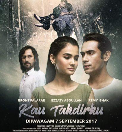poster filem kau takdirku 2017