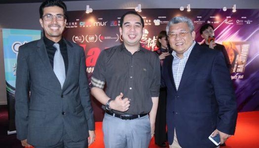 Malam Gala Premier filem 'Manhunt'