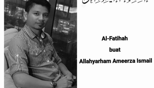 Salam Takziah Buat Keluarga Allahyarham Mohammad Ameerza Bin Ismail