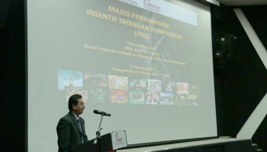 15 Buah Syarikat Produksi Tempatan Terima Insentif Tayangan Filem Cereka (ITFC)