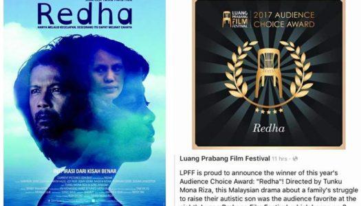 Filem 'Redha' Terima Pengiktirafan 'Audience Choice Award' di Luang Prabang Film Festival (LPFF)