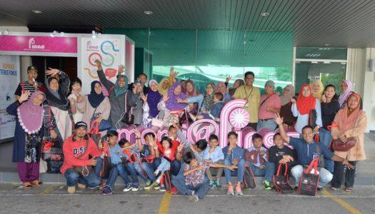 Program Komuniti Jalinan Mesra Bersama KRT Slim River di FINAS Petaling Jaya