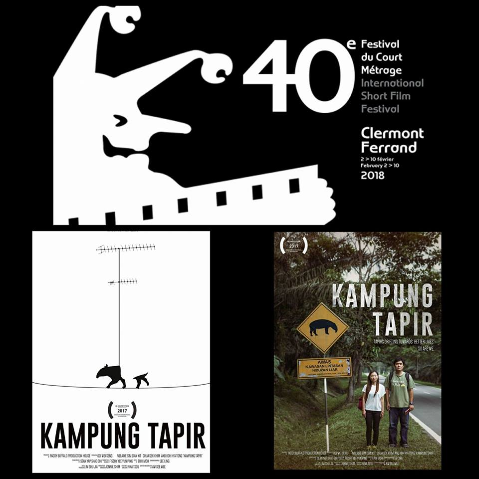 KAMPUNG TAPIR' TO COMPETE AT 40TH CLERMONT-FERRAND