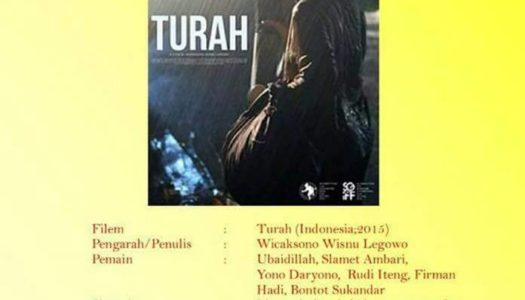 Bicara filem Indonesia 'Turah' bersama karyawan filem dihormati, U-Wei HjSaari dan ahli akademik, Dr.Norman Yusoff anjuran Kuala Lumpur Film School