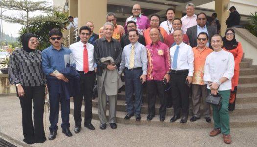MAJLIS RAMAH MESRA YB DATUK SERI DR. SALLEH SAID KERUAK, MENTERI KOMUNIKASI DAN MULTIMEDIA MALAYSIA BERSAMA AHLI-AHLI PERBADANAN FINAS DAN PEGAWAI-PEGAWAI KANAN FINAS