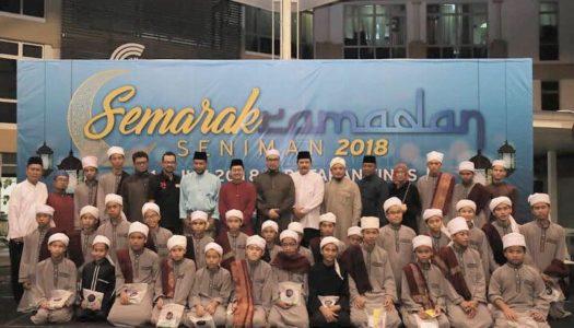 MAJLIS SEMARAK RAMADHAN SENIMAN 2018 BERSAMA PENGGIAT SENI