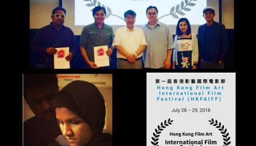 FILEM PENDEK 'PARVAI' ARAHAN SYAHRUL MUSA RAIH KEJAYAAN DI HONG KONG FILM ART INTERNATIONAL FILM FESTIVAL 2018