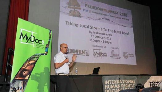 JOAKIM DEMMER LEADS DOCUMENTARY MASTERCLASS IN CONJUNCTION WITH FREEDOM FILM FEST 2018