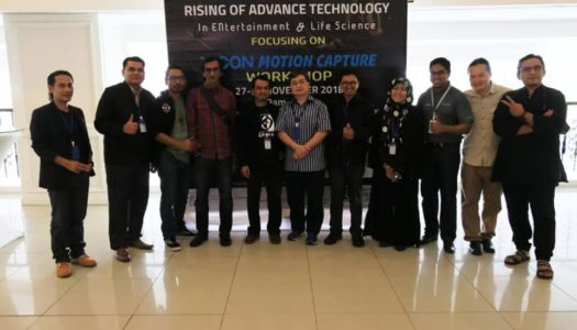 "BENGKEL PEMBANGUNAN MODAL INSAN PERKASA POTENSI PENGGIAT INDUSTRI MELALUI ""RISING OF ADVANCED TECHNOLOGY IN ENTERTAINMENT AND LIFE SCIENCES FOCUSING ON VICON MOTION CAPTURE WORKSHOP"""
