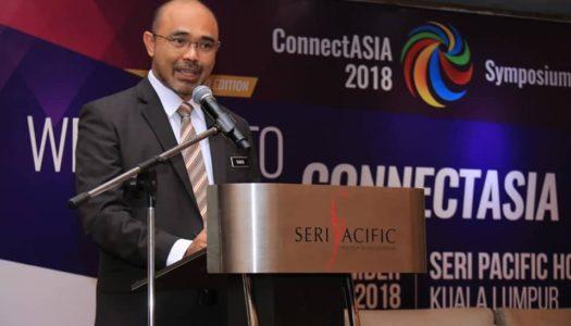 TIMBALAN MENTERI KOMUNIKASI DAN MULTIMEDIA MALAYSIA RASMI CONNECTASIA 2018