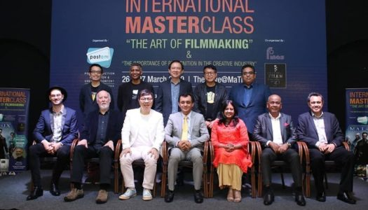 MASTERCLASS 'THE ART OF FILMMAKING & THE IMPORTANCE OF RECOGNITION IN THE CREATIVE INDUSTRY' JANA POTENSI KESAN KHAS VISUAL DAN LANSKAP EKOSISTEM GLOBAL