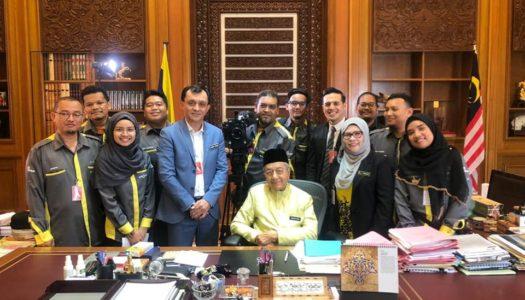 PENGGAMBARAN VIDEO HARI KEBANGSAAN 2019 BERSAMA YAB TUN DR. MAHATHIR MOHAMAD, PERDANA MENTERI MALAYSIA