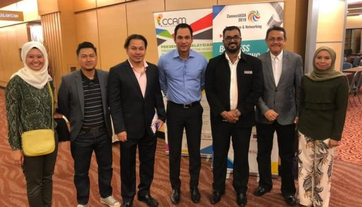 CONNECT ASIA 2019 (BUSINESS NETWORKING & SHARING SESSION) ORGANIZER: NATIONAL FILM DEVELOPMENT CORPORATION MALAYSIA AND CREATIVE CONTENT ASSOCIATION MALAYSIA