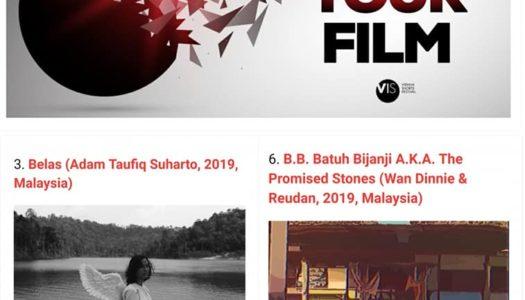 SEKALUNG TAHNIAH BUAT FILEM PENDEK 'BELAS' DAN 'B.B.BATUH BIJANJI (THE PROMISED STONES)'
