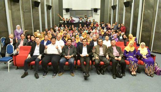 MAJLIS 'JASAMU DIKENANG' BERSAMA CEO FINAS, EN.AHMAD IDHAM AHMAD NADZRI