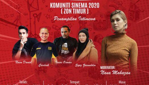 BENGKEL KEMAHIRAN YOUTUBE DAN KOMUNITI SINEMA 2020 (ZON TIMUR)