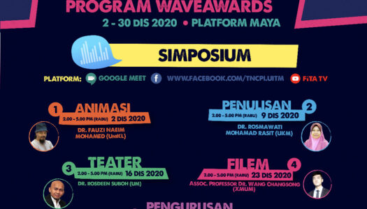 INVITATION TO ATTEND WAVE AWARDS 2021 ONLINE SYMPOSIUM