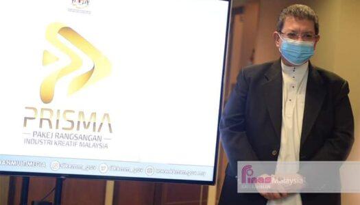 PELANCARAN PAKEJ RANSANGAN INDUSTRI KREATIF MALAYSIA (PRISMA)