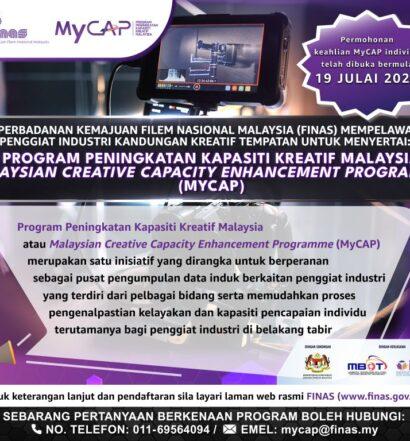 POSTER_Permohonan keahlian MyCAP 2021